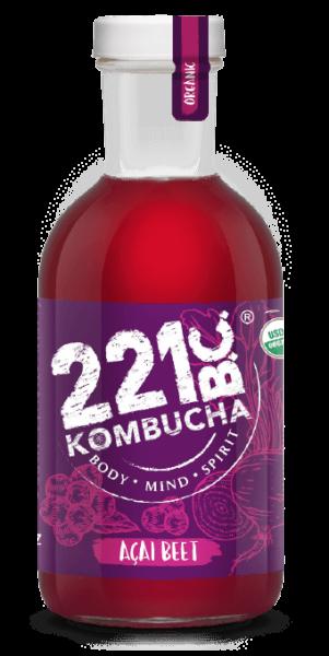 ACAI BEET flavored kombucha